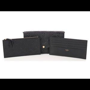 Authentic Louis Vuitton Pochette Zip Pouch ONLY!